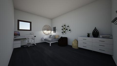 My Dorm  - Minimal - by williamsdecor