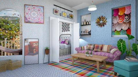 BOHEMIAN  - Global - Living room - by zayneb_17