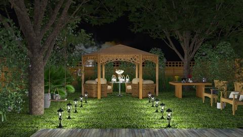 S_Garden Party - Garden - by Shajia
