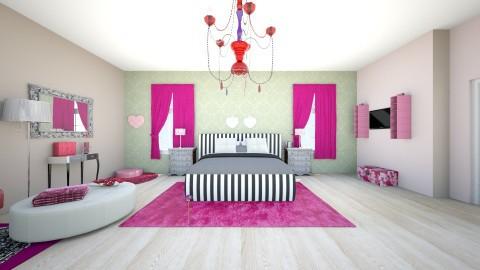 aleenisSTYLE - Modern - Bedroom - by moon_safi