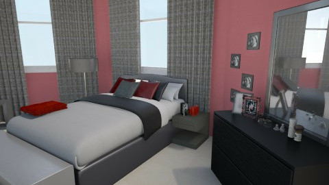 Forever Red - Modern - Bedroom - by tammy7