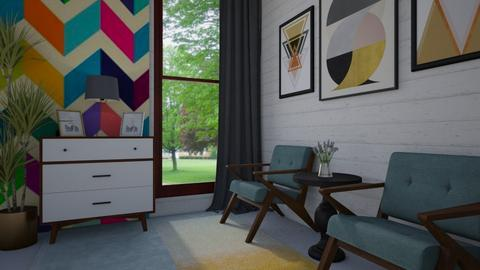 Geometric - Living room - by Veny Mully