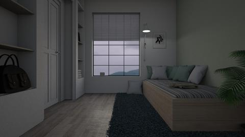cloudy - Bedroom - by Amorum X