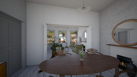 old town house thru vu - Eclectic - Dining room - by kitty