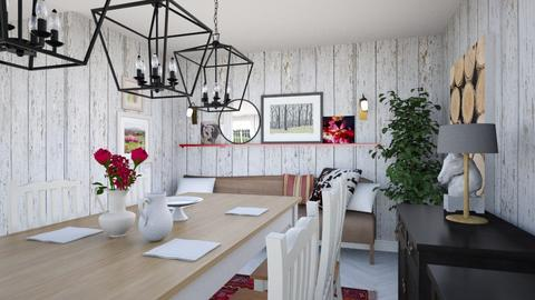 Country Dining 3 - Country - Dining room - by IdaJo