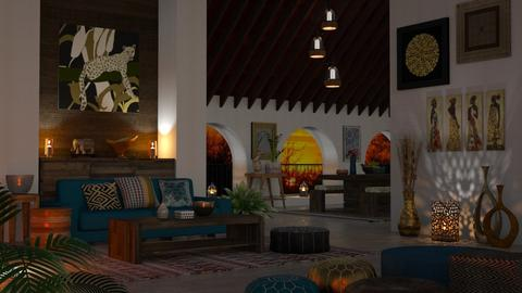 Africa - Living room - by LB1981
