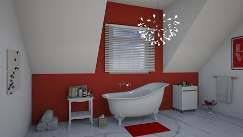 attic bathroom - Bathroom - by darcyclayton