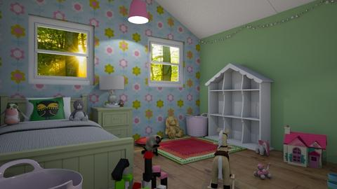 Granddaughter Attic Room - Kids room - by miah