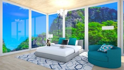 Turqoise Beach - Modern - Bedroom - by Taxi girl