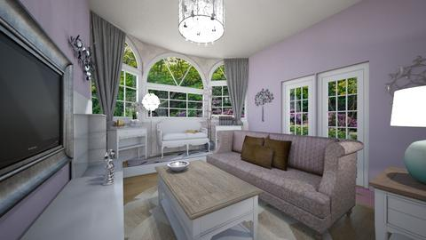 Chic - Living room - by The Geek Owl