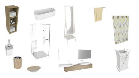 Dreamhouse Bathroom - by megan olah