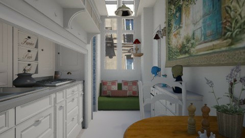 Paris tiny room country - Country - by donella