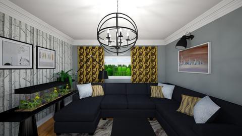 Livingroom v4_1 - Living room - by mtracerz