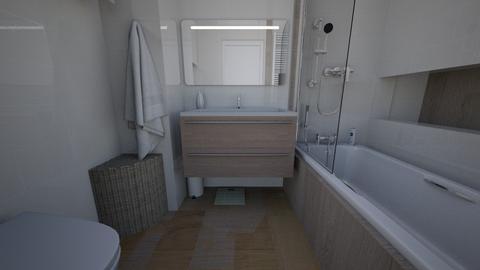 lazienka - Bathroom - by wredootka
