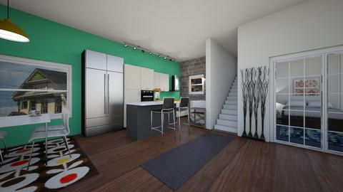 Cozy house  - Kitchen - by manicpop