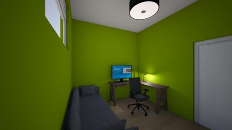 basement home office ergo - Modern - Office - by Jornamu