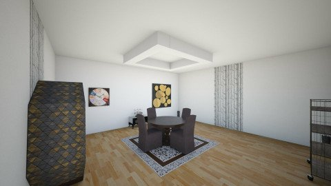 living room whit skaytlee - Living room - by imane el moustaid