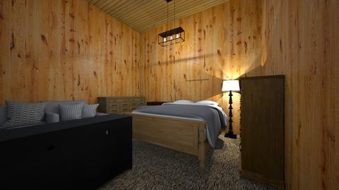 the single level magnolia house - Bedroom - by dclark23