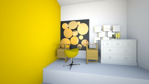 Sunny Citrus  - Modern - Bedroom - by NomiF