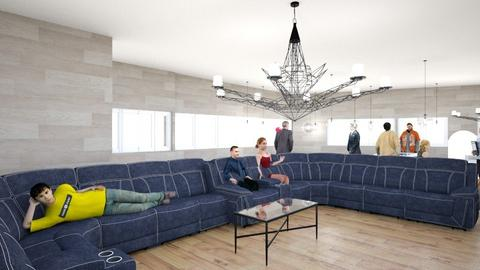 hunters master piece - Modern - Living room - by hdwells11