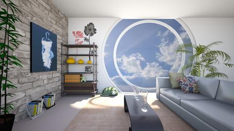 round room - by AALAMI Nawal