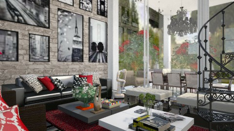 You are welcome here - Modern - Living room - by aarish khan