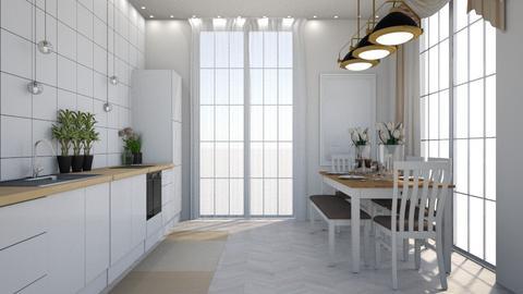 jo - Dining room - by lyub