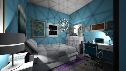 SSS - Bedroom - by carmenouloulou