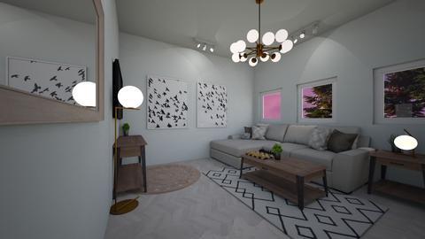 minimalist living - Minimal - Living room - by smurfzilla2