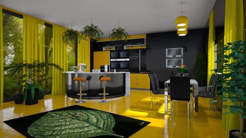 Urban jungle kitchen - by ilcsi1860