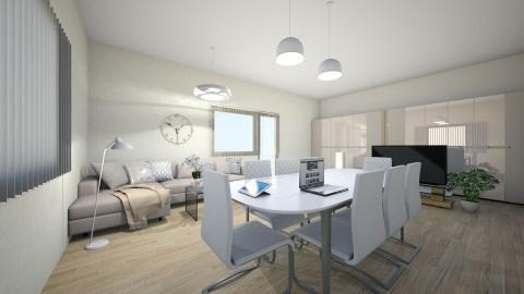 easy style - Minimal - Living room - by joannaswiatek23