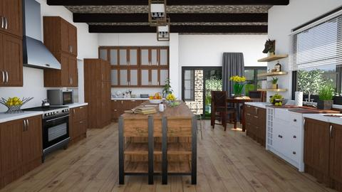 Farmhouse digest - Rustic - Kitchen - by megalia42