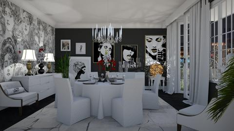 Fame - Glamour - Dining room - by janip