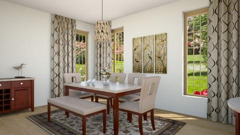 Dining Room aviary - Classic - Dining room - by Psweets