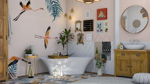 Bohemian Bathroom - Modern - Bathroom - by Roquette