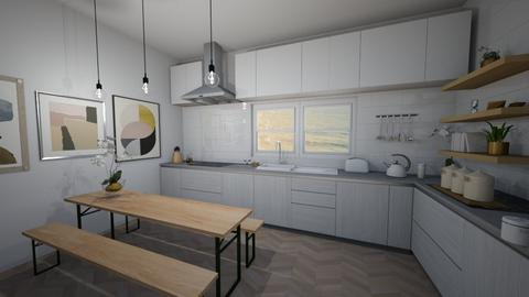 Simply Scandinavian  - Kitchen - by hlk