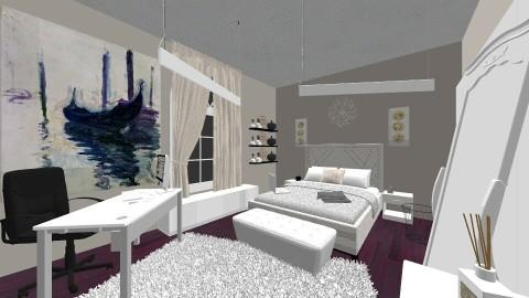 Grey Chic - Modern - Bedroom - by DMLights-user-1392869
