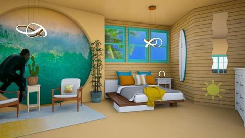 surf bed - Modern - Bedroom - by zayneb_17