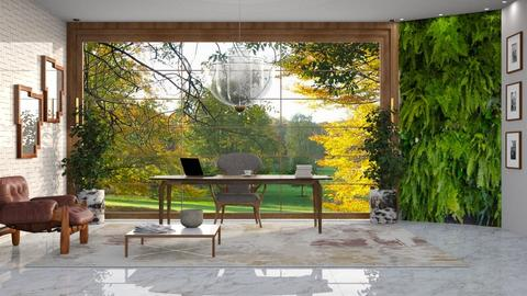 Vista para o jardim - Office - by Alecio