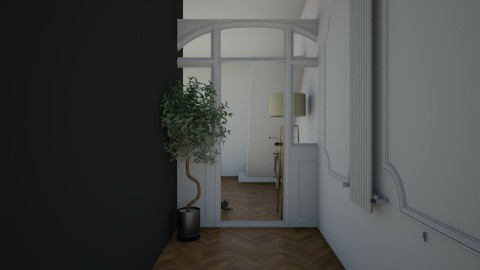 plac parysa - Living room - by kubacislawski