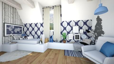 RT - Modern - Bedroom - by mlykkeh