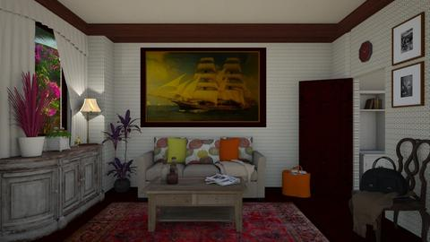 Carmina Barrios - Retro - Living room - by Elenn