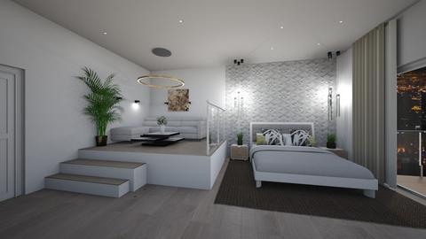 Studio - Bedroom - by Ginntare