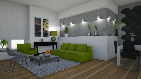 modern living room - by snjeskasmjeska