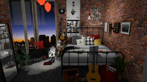 D bedroom - Retro - Bedroom - by high_hopes