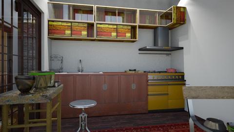 my biz ind5 - Eclectic - Kitchen - by macus