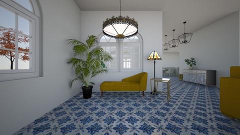 North West Corner - Living room - by Orange Blossom Interiors