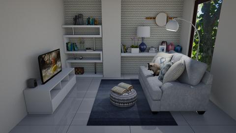 Cantinho Leitura Atelier - Feminine - Living room - by Mariesse Paim