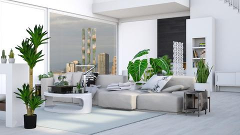 Ultra Modern - Modern - Living room - by Isaacarchitect