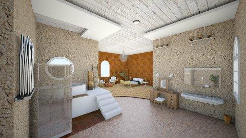 Romantic Ensuite Bathroom - Bathroom - by Kristianto Kristianto